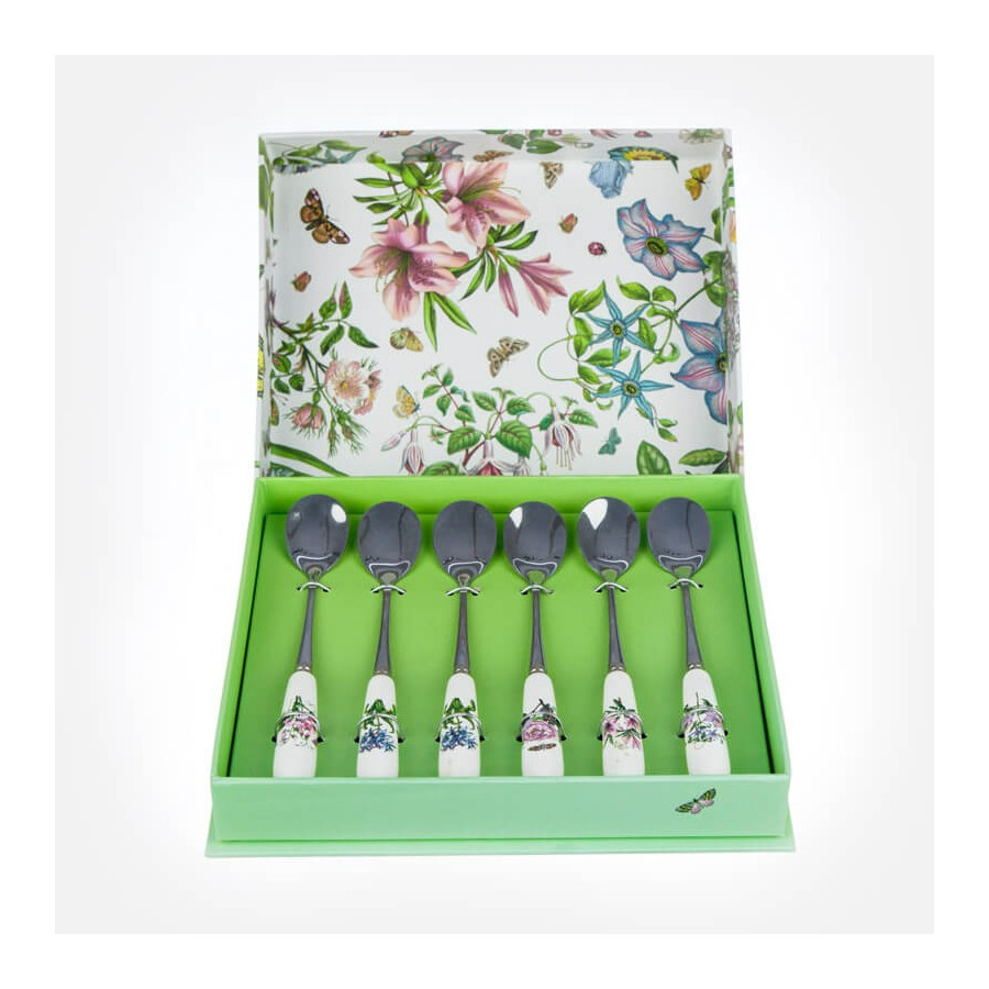 Botanic Garden Teaspoon Set Portmeirion Uk