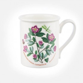 Botanic Garden Breakfast Mug Rhododendron