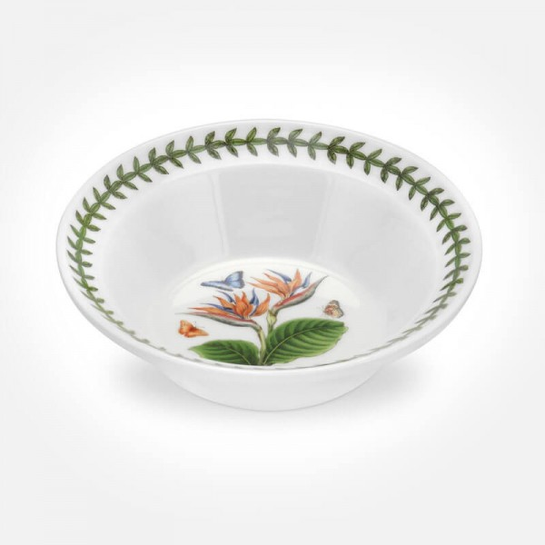 "Exotic Botanic Garden 6"" Oatmeal Bowl Bird of Paradise"