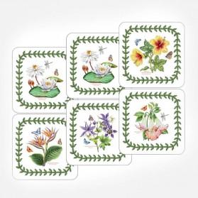 Exotic Botanic Garden Coasters Set of 6