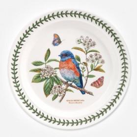 Botanic Garden Birds 10 inch Dinner Plate Bluebird