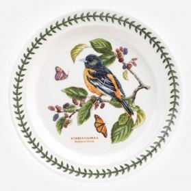 Botanic Garden Birds 10 inch Dinner Plate Baltimore Oriole