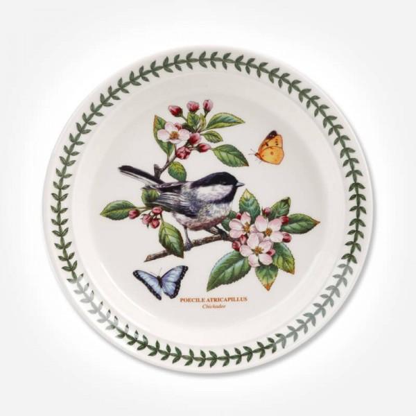 Botanic Garden Birds 8 inch Plate Chickadee