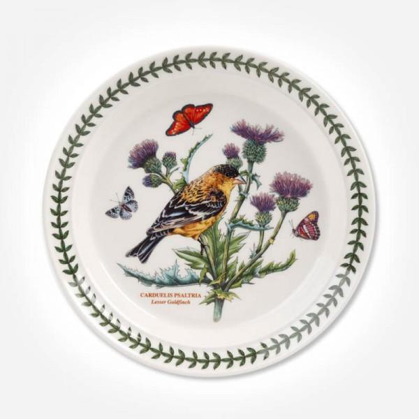Botanic Garden Birds 8 inch Plate Lesser Goldfinch
