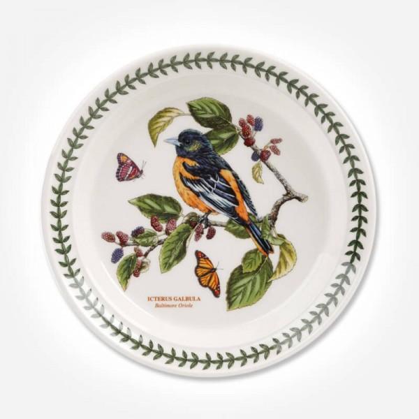Botanic Garden Birds 8 inch Plate Baltimore Oriole