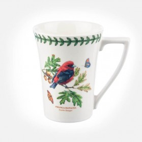 Botanic Garden Birds Mug Scarlet Tanager