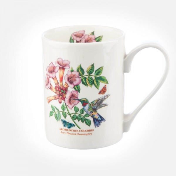 Botanic Garden Birds Coffee Mug Ruby Hummingbird