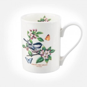 Botanic Garden Birds Coffee Mug Chickadee
