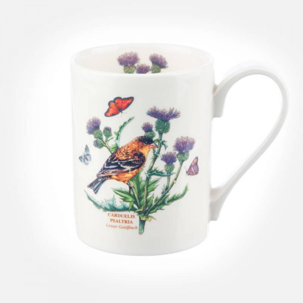 Botanic Garden Birds Coffee Mug Lesser Goldfinch