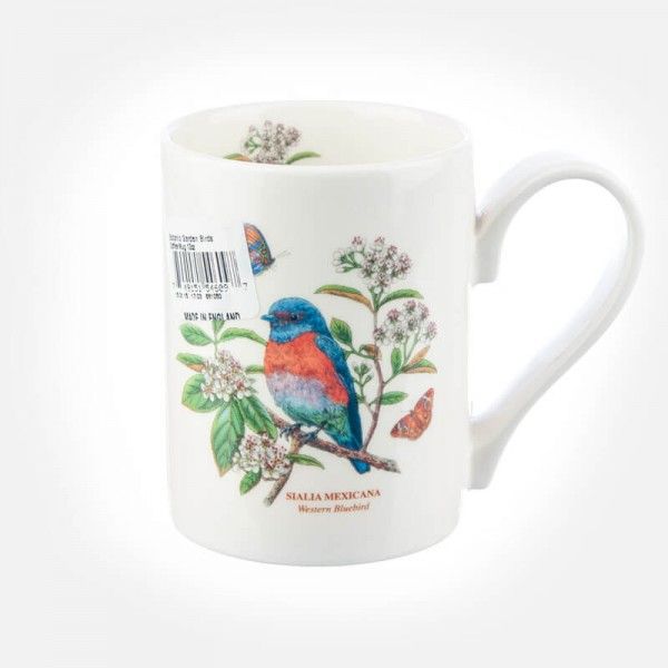 Botanic Garden Birds Coffee Mug West Bluebird