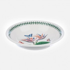 Exotic Botanic Garden 8 inch Pasta Bowl Bird of Paradise