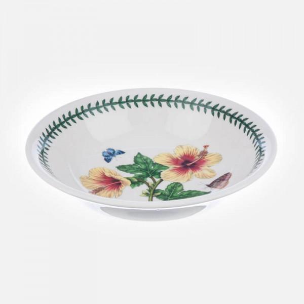 Exotic Botanic Garden 8 inch Pasta Bowl Hibiscus