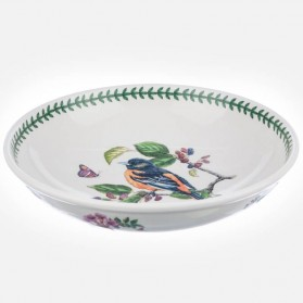 Botanic Garden Birds Low Bowl 13 inch
