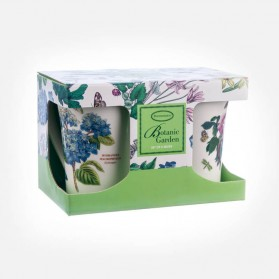 Botanic Garden Mugs Set of 2 Gift Box