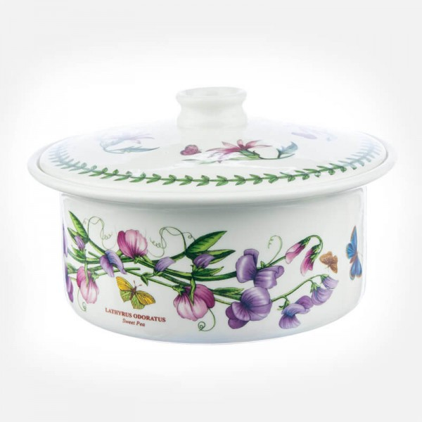 portmeirion Botanic Garden Covered Casserole 3pt