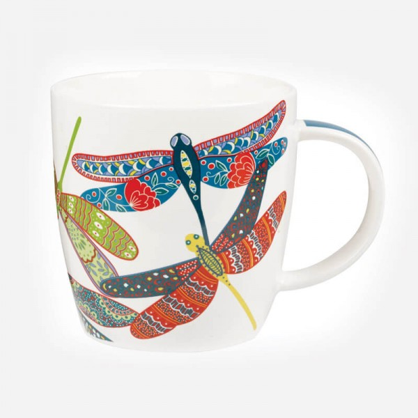 Queens Couture Paradise Icons Squash Dragonfly Mug