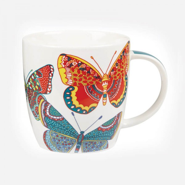 Queens Couture Butterflies Mug