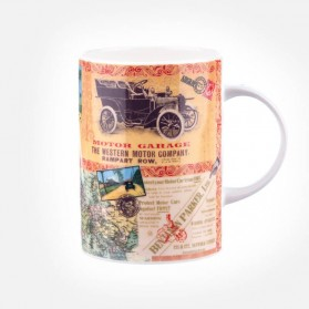 Queens Lemon Grass Motor Company Mug