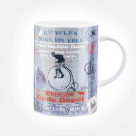 Queens Lemon Grass Bicycles Freedom Mug
