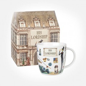 At Your Leisure His Lordship mug in Giftbox
