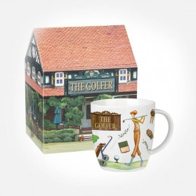 At Your Leisure The Golfer Mug in Giftbox