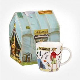 At Your Leisure The Camper mug in giftbox