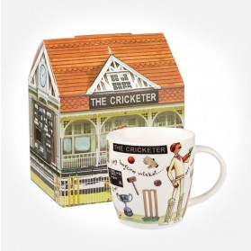 At Your Leisure The Cricketer mug in giftbox