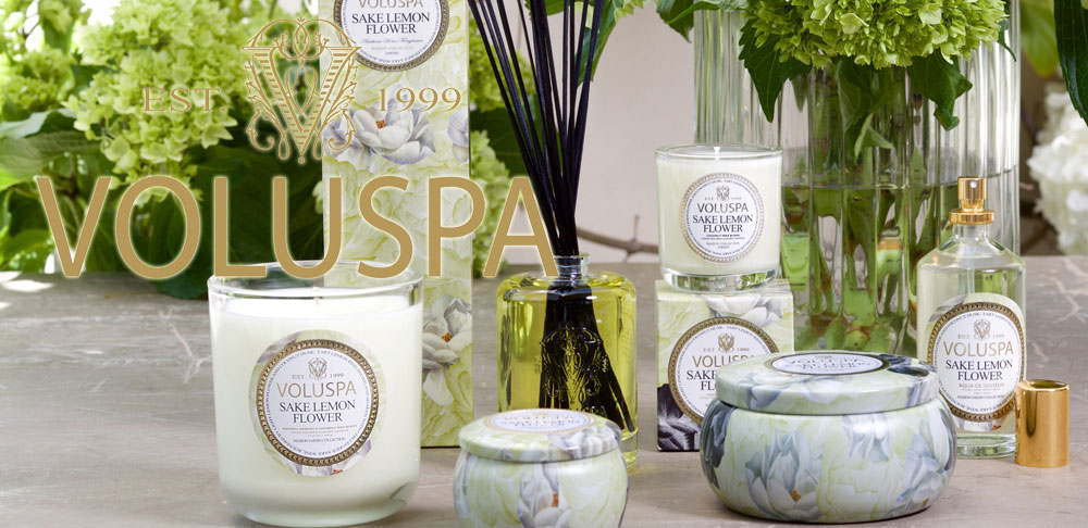 "100% Natural  ""Voluspa"" – Scented Candles"