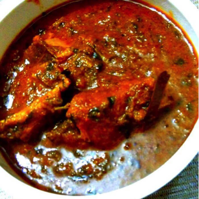 methi mutton masala