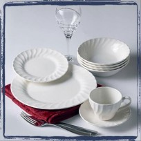 Churchill China Chelsea White