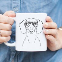 Bone China Dog Mugs