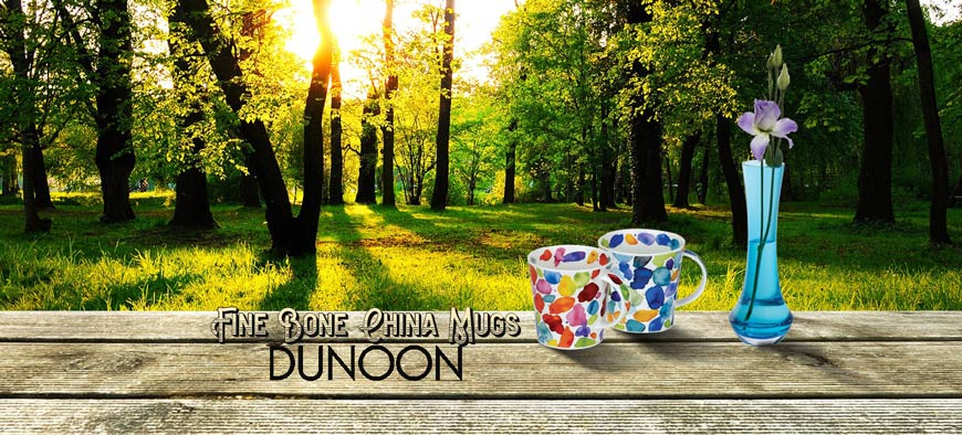 dunoon fine bone china mugs